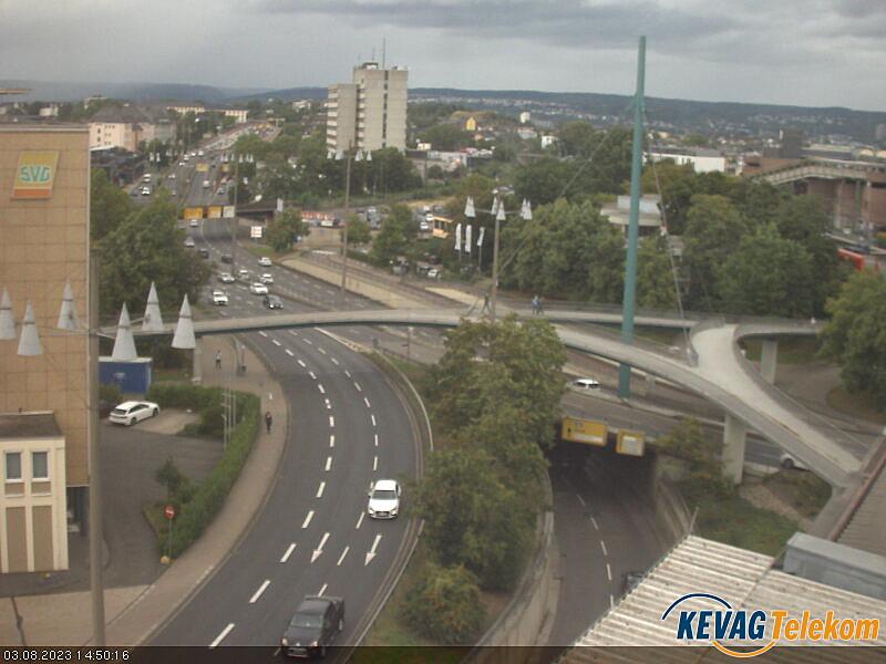 KEVAG Webcam Europabrücke